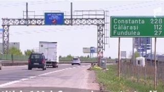 Limitare de viteză pe A2: 80 de km/h între București și Fundulea