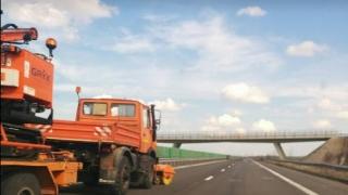 Lucrări pe Autostrada A2. Trafic restricționat