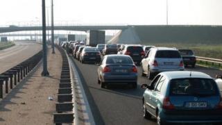 Tronsonul Medgidia - Cernavodă de pe autostrada A2, ÎNCHIS pentru 2 ore