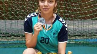 Handbalistă din Medgidia, vicecampioană națională la junioare I