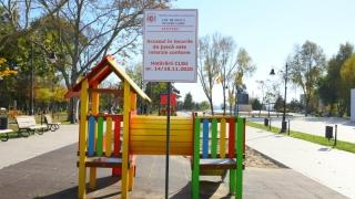 Accesul în locurile de joacă este strict interzis