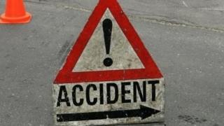 Accident rutier pe bulevardul IC Brătianu