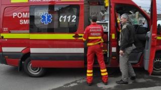 Nouă persoane au fost rănite într-un accident rutier