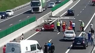 Trei accidente pe Autostrada Soarelui în urmă cu puțin timp. Sunt coloane de mașini pe sensul spre Constanța