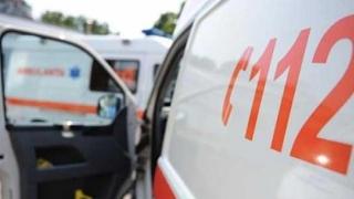 ACCIDENT între o ambulanţă cu pacient și un autoturism, în Constanța
