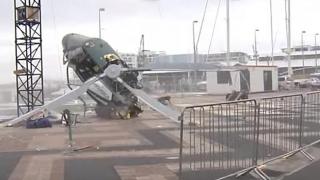Accident aviatic cumplit! Un avion a intrat în coliziune în zbor cu un elicopter
