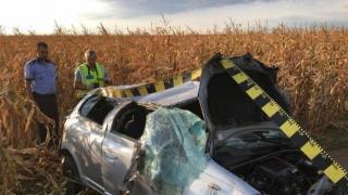 Accident grav: O femeie a murit, iar un bărbat și doi copii sunt în stare critică