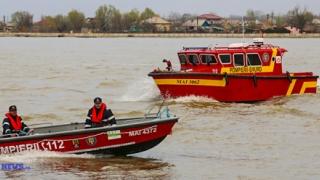 Accident naval în Delta Dunării!