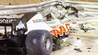 Incident grav în Formula 1: Romain Grosjean scapă miraculos după ce a stat secunde bune într-un monopost cuprins de flăcări