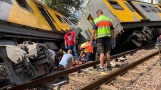 Accident feroviar cu sute de răniți, în Africa de Sud