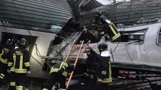 Accident feroviar lângă Milano
