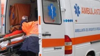 Bărbat în stare gravă, după ce a fost lovit de un TIR