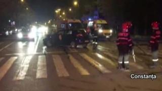 Accident grav în Constanţa. Patru persoane rănite