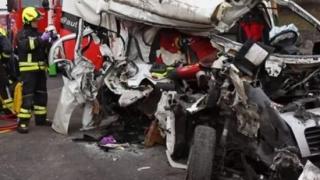 Accident GRAV cu români, în Austria. Trei victime!