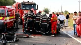 Accident grav pe Autostrada Soarelui: Un copil de trei ani a murit!