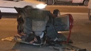 Accident groaznic de circulație în Constanța! Imagini terifiante!