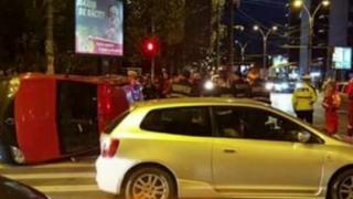 Accident rutier grav! Patru persoane au fost rănite