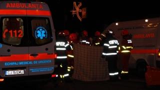Cinci persoane, rănite îm urma coliziunii unui troleibuz cu un autoturism