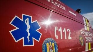 Accident oribil! O femeie a murit iar alte 3, rănite, după explozia unei anvelope