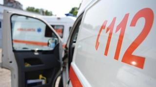 Ambulanță atacată în timpul misiunii