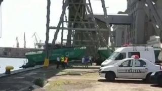 Accident de muncă mortal în Portul Constanța