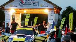 Accident spectaculos în timpul Raliului Delta Danube organizat în Tulcea