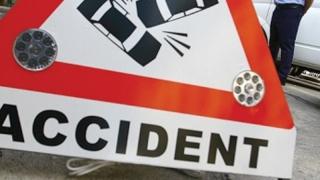 Accident rutier pe bulevardul I.C. Brătianu