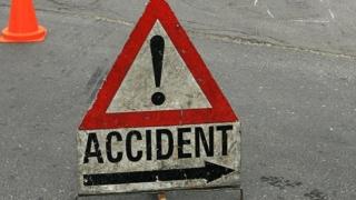 Accident rutier la intrarea în comuna Cumpăna