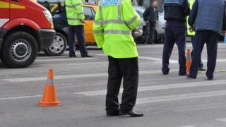 Accident cu o victimă într-o intersecție din Constanța