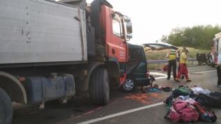 TRAGEDIE RUTIERĂ! Şapte români, morți într-un accident în Ungaria