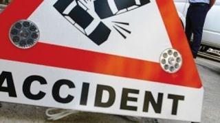 Accident cu o persoană rănită, pe bulevardul I.C. Brătianu