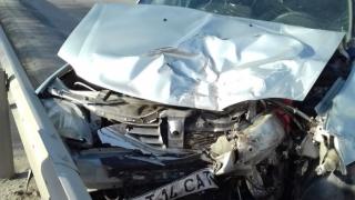 Accident grav la Ovidiu. O victimă, preluată de elicopterul SMURD