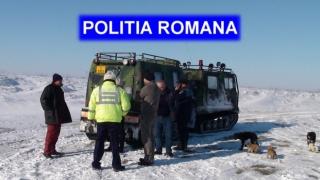 Acțiune de salvare a polițiștilor! Un bărbat a stat trei zile în câmp!
