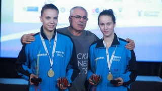 Adina Diaconu și Andreea Dragoman, vicecampioane europene U21 la tenis de masă
