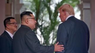 Donald Trump îi mulţumeşte pentru cooperare liderului nord-coreean şi critică Iranul