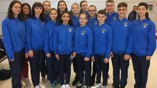 Medalii pentru juniorii constănțeni la Campionatele Mondiale de gimnastică aerobică