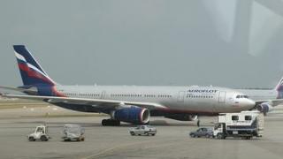 Avion civil rus, aparținând Aeroflot, percheziționat la Londra