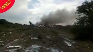 Aeromexico, dată în judecată de supravieţuitori ai catastrofei aviatice