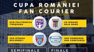 Bilete și abonamente pentru Final Four-ul Cupei României la handbal masculin