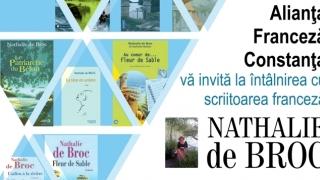 Scriitoarea franceză Nathalie de Broc vine la Constanța