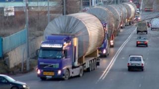 Atenție șoferi: Transport agabaritic pe A2 și A4