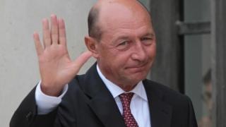Traian Băsescu a votat la prezidențialele de peste Prut