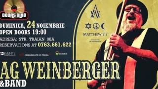 AG Weinberger, în noua formulă de band, lângă publicul constănțean