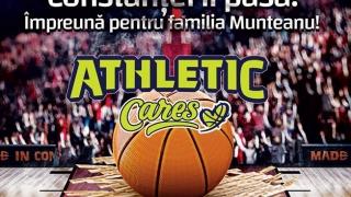 """BC Athletic: """"Constanţei îi pasă! Împreună pentru familia Munteanu!"""""""