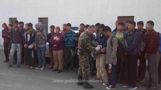 Alarmă la graniță! 29 de afgani și un pakistanez încercau să intre în România!