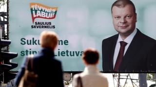 Împărțiți în bogați și săraci, lituanienii își aleg președintele