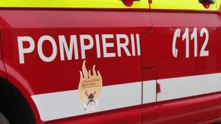 Alertă de incendiu într-un apartament din Constanța