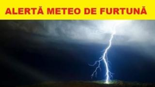 Cod galben de vreme severă imediată în județele Constanța și Tulcea
