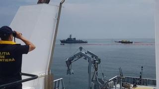 Alertă pe mare! Ciocnire între două nave. Poluare masivă