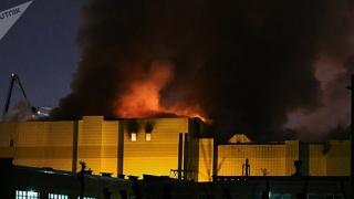 Incendiu într-un mall din Moscova. Mai multe victime, inclusiv copii!